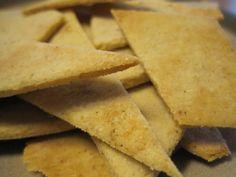 """Paleo """"Tortilla"""" Chips"""