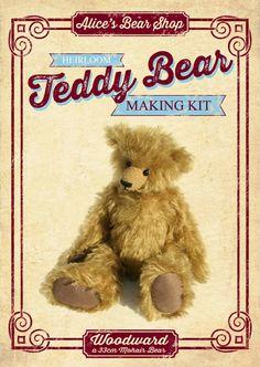 Woodward Teddy Bear Kit by Alice's Bear Shop