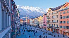 La localidad austriaca de Innsbruck es la segunda mayor ciudad de los Alpes.