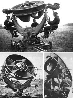 Sound Mirrors, Acoustic Horns and War Tubas were the only means of detecting enemy aircraft before the invention of radar – and for some time after.