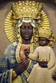 The Black Madonna: The Hidden Treasure of Creation (E-Book) - United Black Books Religious Icons, Religious Art, Religion, Black History Facts, Art History, La Madone, Black Jesus, Black Authors, Biblical Art
