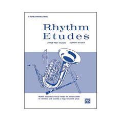 Alfred Rhythm Etudes C Flute (C Piccolo Oboe)