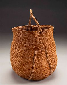 Willow Bark Basket #627 by Jennifer Zurick