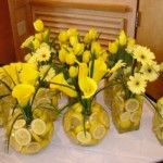 red and yellow wedding decorations - Google Search