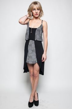 echo park independent co-op - Modern Archives Silk Panel Dress