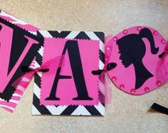 Barbie Birthday Decorations  by TheGirlNXTdoor on Etsy