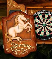 I think this would be the most awesome dart board ever