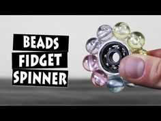 DIY Beads Hand Spinner Fidget Toy - YouTube