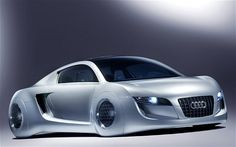 """The iRobot Audi >>> """"The Audi RSQ sport coupe from 2004 represented product placement at its finest: the car was created for the sci-fi film I, Robot, set in 2035"""""""