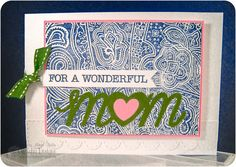 scrappybetties: Cards Magazine April Challenge - Mom Card.