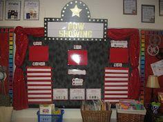 -Hollywood Classroom Theme  -pictures / photos  -tips / ideas  -bulletin board ideas  -elementary school (1st, 2nd, 3rd, 4th, 5th, 6th grade & kindergarten)