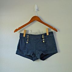 """Forever 21 Denim Shorts Denim short shorts from Forever 21. Button front closure. Stretchy material. In great condition!  