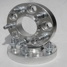 """2 Pcs 1"""" inch 25mm Hubcentric Wheel Spacers Fits Ford Classic Hotrod 5LUG 5x4 5   eBay $56 1965 Mustang, Hot Rods, Ford, Classic, Ebay, Derby, Classic Books"""