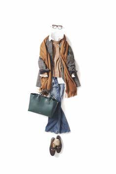 Very fun casual outfit Mature Fashion, 60 Fashion, Cute Fashion, Daily Fashion, Fashion Outfits, Womens Fashion, Mode Outfits, Casual Outfits, Scandinavian Fashion