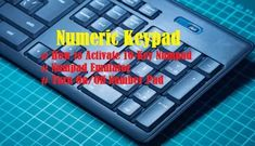 How to Activate, Numpad Emulator, Fix Numpad Issues Data Entry, Data Feed