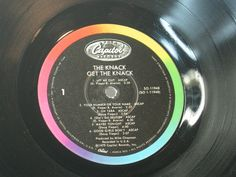 The Knack RePurposed Album Bowl by ROCKANDROLLCOASTERS on Etsy, $12.00