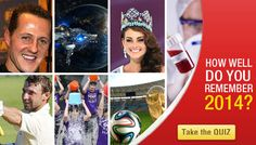 I scored 0/10 ! How well do you Remember 2014? Take the Quiz!!
