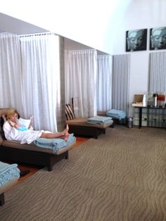 Nob Hill Spa Relaxation Room