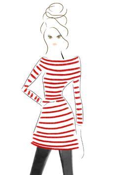 DesignsBYBC: Red Stripes