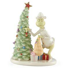 Lenox Grinch Christmas Crook Figurine Thief Stealing Tree How Grinch Stole Dr Seuss Lenox Christmas, Christmas China, Grinch Christmas, Christmas Holidays, Christmas Decorations, Christmas Ornaments, Holiday Decor, Program Design, Wonderful Time