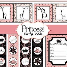 Princess Party Printables