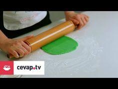 Şeker hamuru ile kurabiye nasıl kaplanır? - YouTube