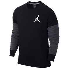 21bf442f973a AIR JORDAN The Varsity Crew Sweatshirt Sweat Shirt jumper hoodie