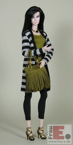 "https://flic.kr/p/CCz6kJ | OOAK Doll Outfit ""Olive"" 