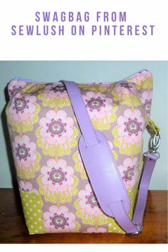 This is a pattern so you can make this great, room weekender. Fusible Interfacing, Big Bags, Easy Peasy, Step By Step Instructions, Diaper Bag, Swag, Purses, Weekender, Lush