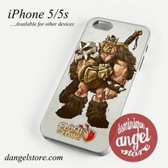 Clash of Clans Barbarian King Phone case for iPhone 4/4s/5/5c/5s/6/6 plus