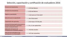 Calendario de Evaluaciones SEP INEE 2016 (16)