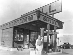 1000 Images About Gas Stations Garages On Pinterest