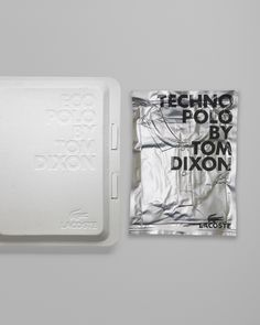 Design: Mind Design / embossed into a recycled, egg carton-like material + silver + vacuum-packed foil packaging + screen-printed / on TTL Design