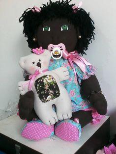 boneca de pano Nina II