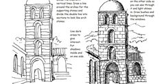 A free printable how to draw worksheet