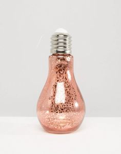 Rose Gold Bulb
