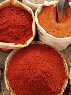 Spices, Tinerhir Souk, Morocco