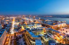 Завод «Севмаш» и город Архангельск - Gelio (Степанов Слава)