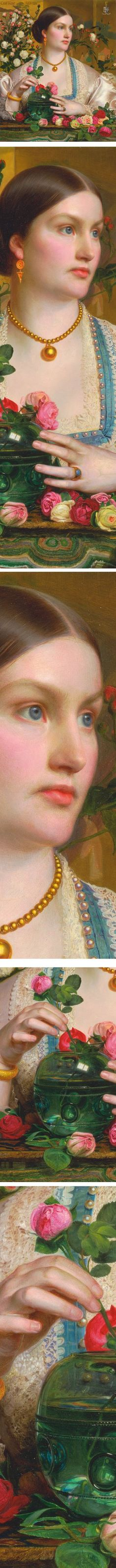 Eye Candy for Today: Frederick Sandys' Grace Rose