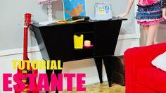 Tutorial Barbie - Como fazer uma ESTANTE para sua Barbie, Monster High, ...