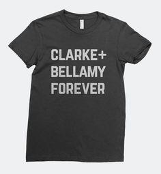 Clarke + Bellamy Forever - The 100 - Women's T-Shirt