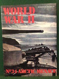 World War II Magazine Orbis Publishing 1973 Vol 3 No.34 Arctic Menace