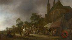 Preutse Britse vorst liet Nederlands schilderij overschilderen | NOS