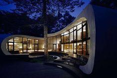 moderne bauwerke japanische residenz
