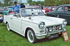 1967 Triumph Herald 1200 convertible 1147cc 4-Cylinder OHV engine