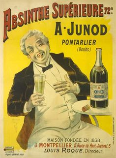Owing in part to its association with bohemian culture, the consumption of absinthe was opposed by social conservatives and prohibitionists. Ernest Hemingway, Charles Baudelaire, Paul Verlaine, Arthur Rimbaud, Henri de Toulouse-Lautrec, Amedeo Modigliani, Vincent van Gogh, Oscar Wilde, Aleister Crowley, Erik Satie and Alfred Jarry were all known absinthe drinkers.[6]