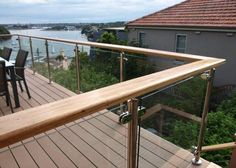 50 Incredible Glass Railing Design for Home Blacony 40 - All About Balcony Decking Glass Balustrade, Balustrades, Glass Railing, Balcony Railing, Deck Railings, Glass Stairs, Glass Pool Fencing, Glass Fence, Pool Fence