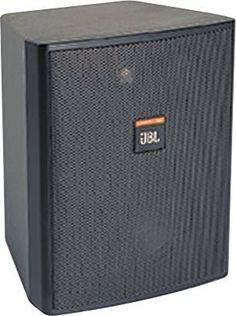 """JBL Control 25AV Two-Way 5-1/4"""" Shielded Indoor/Outdoor Speaker Pair Black by JBL. $366.00. Save 19% Off!"""