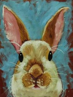 pintura a oleo coelho - Pesquisa Google