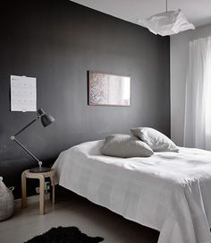 Monochrome home with lots of breathing space - via cocolapinedesign.com